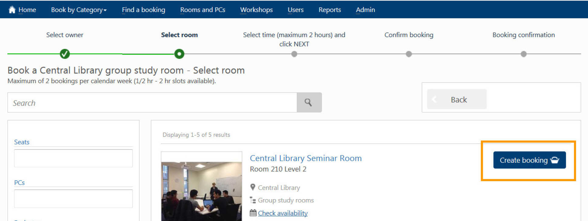 Bookings   Administration and support services   Imperial College ...