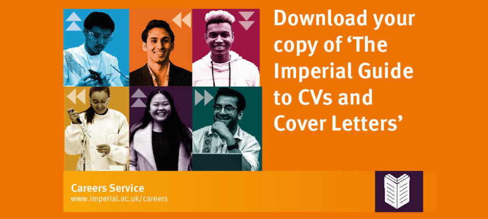 The Imperial Guide to CVs and Cover Letters