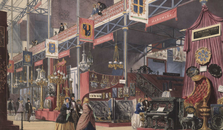 Illustration of the Great Exhibition of 1851