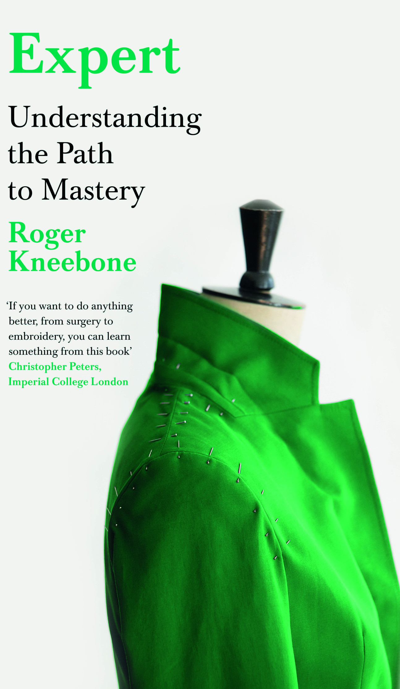 The front cover of Expert by Roger Kneebone