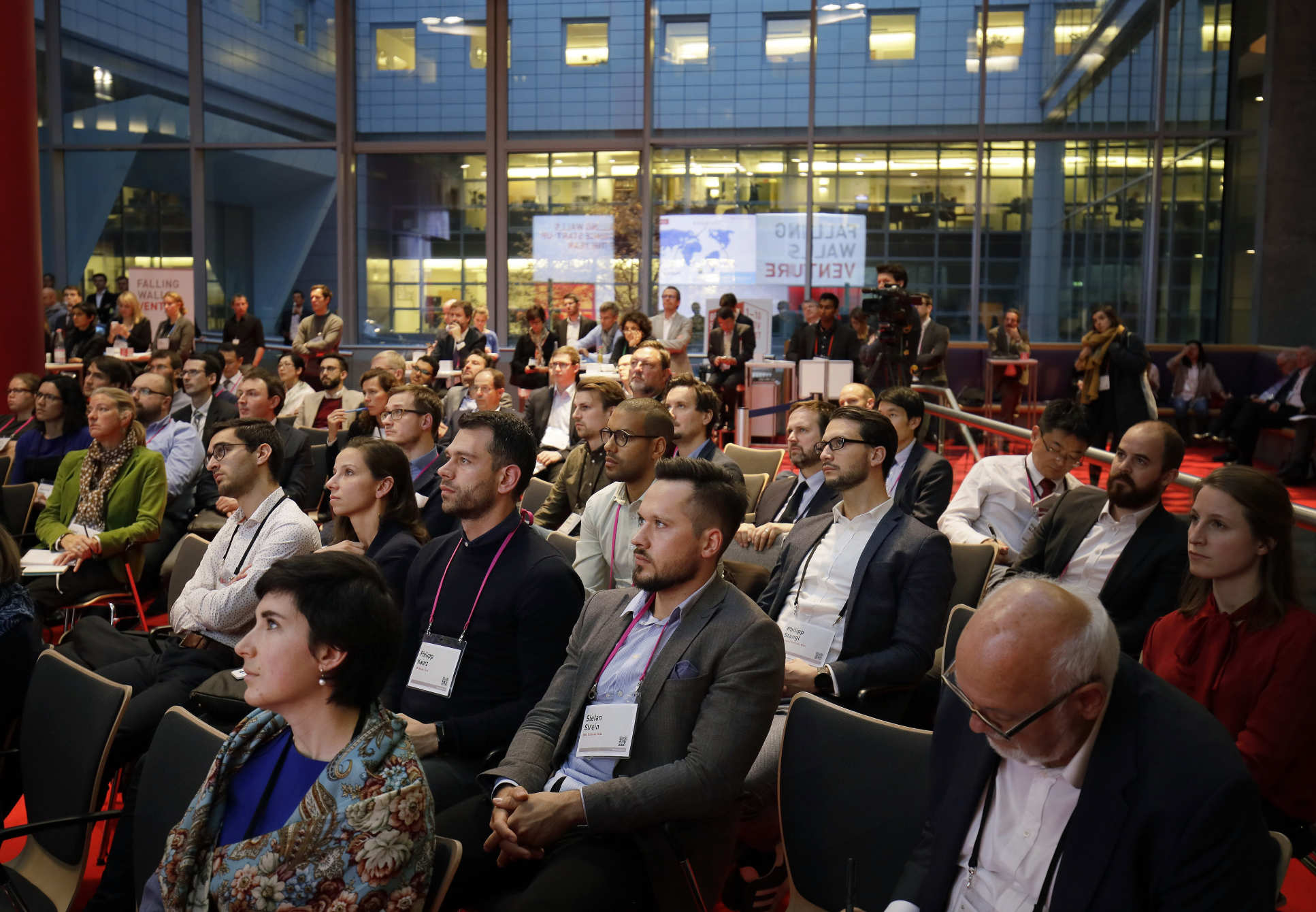 Falling Walls is attended by some of the world's leading scientists