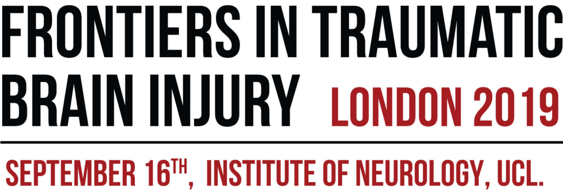 Frontiers in TBI, London Sept 16th 2019, ION at UCL
