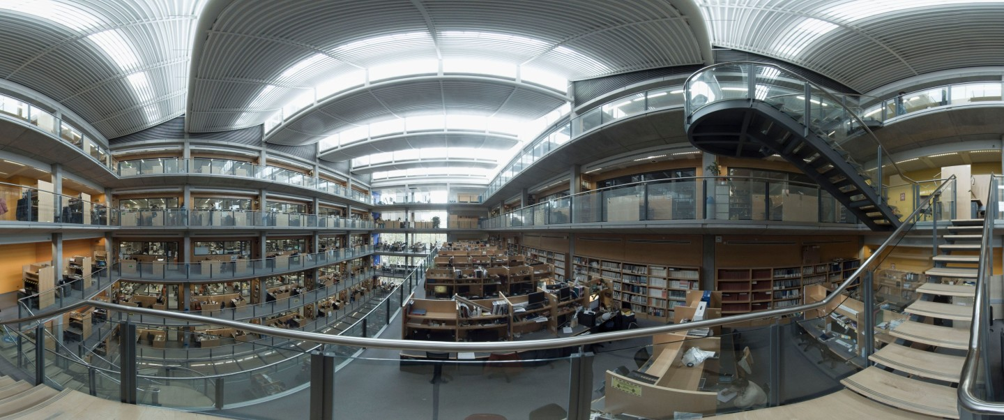 A 360-degree photo of the Sir Alexander Fleming Building on Imperial's South Kensington campus
