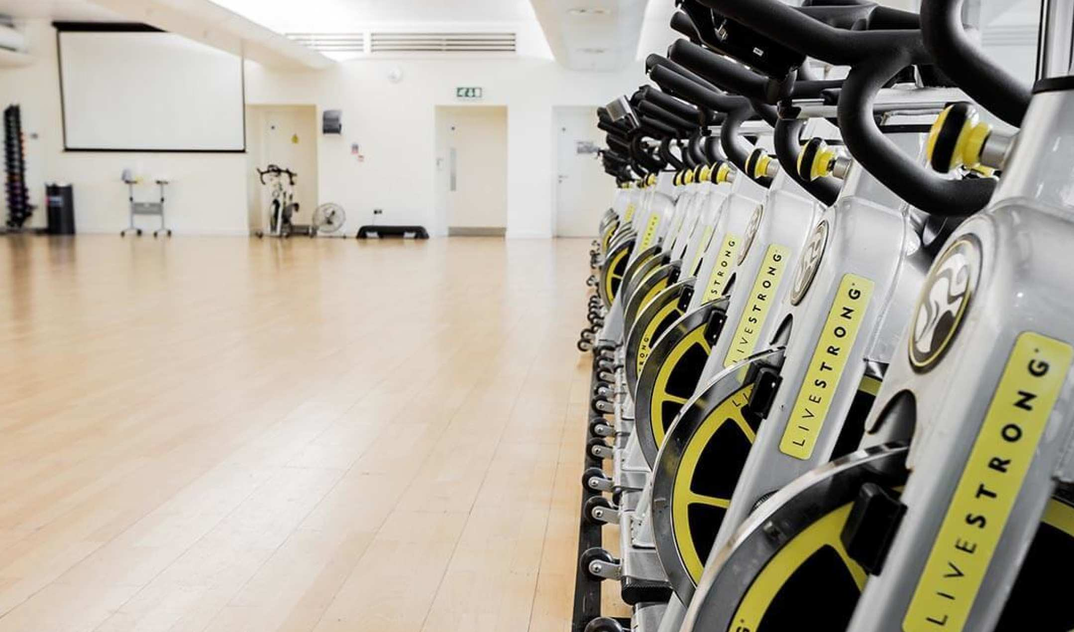 A range of sports facilities for guests including studio classes