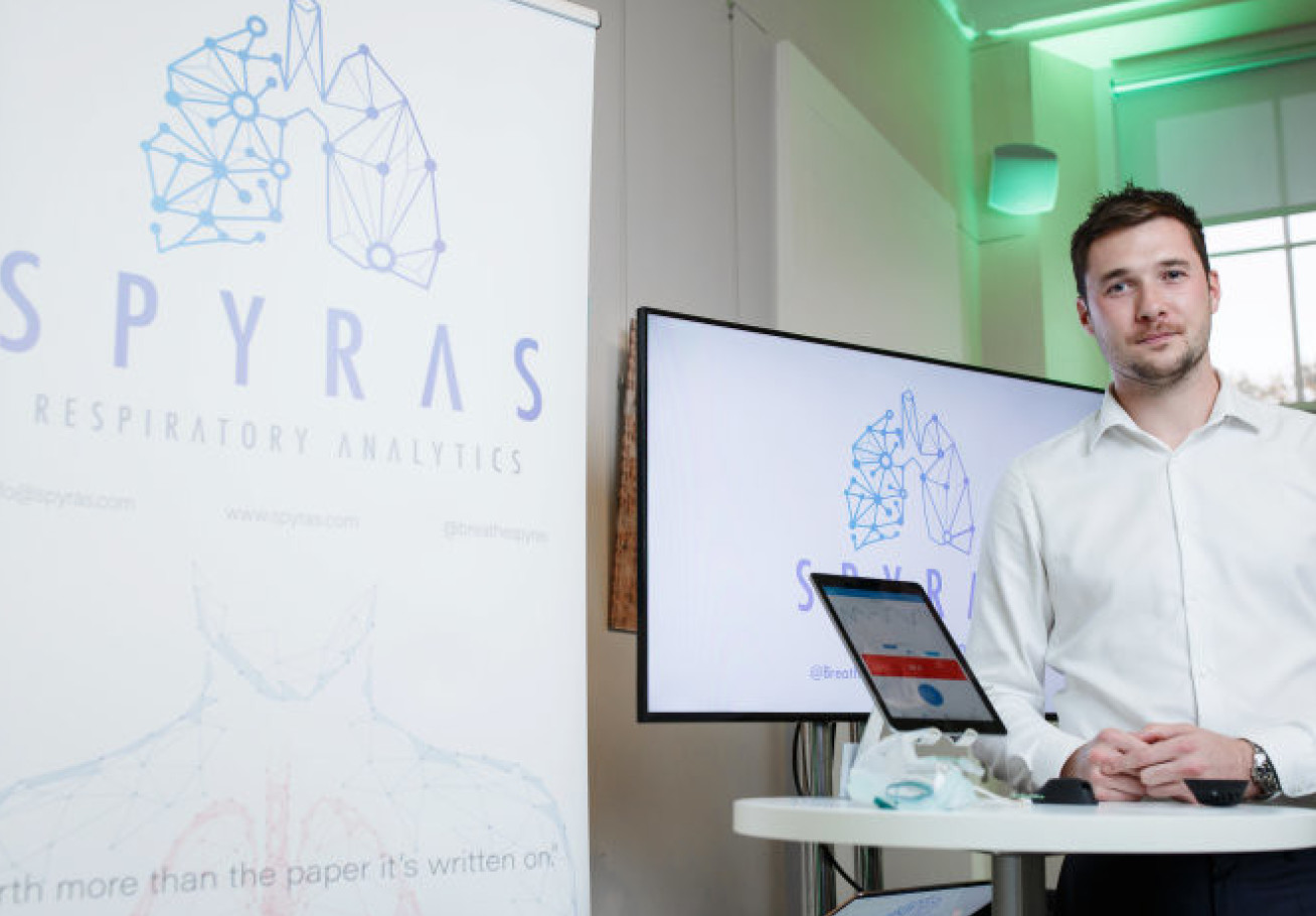 George Winfield Founder and CEO, SPYRAS presenting