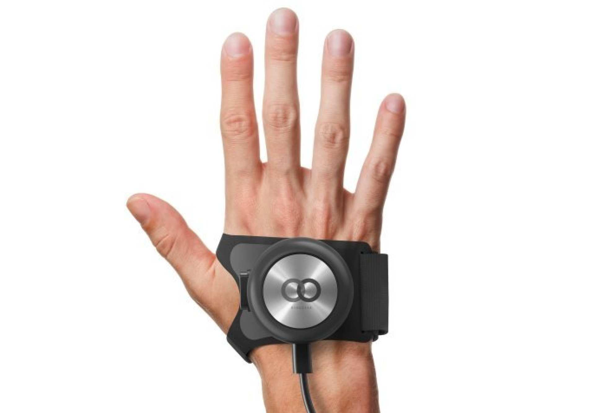 The team are developing the Gyroglove, a device that helps stabilise the hands of people with tremors