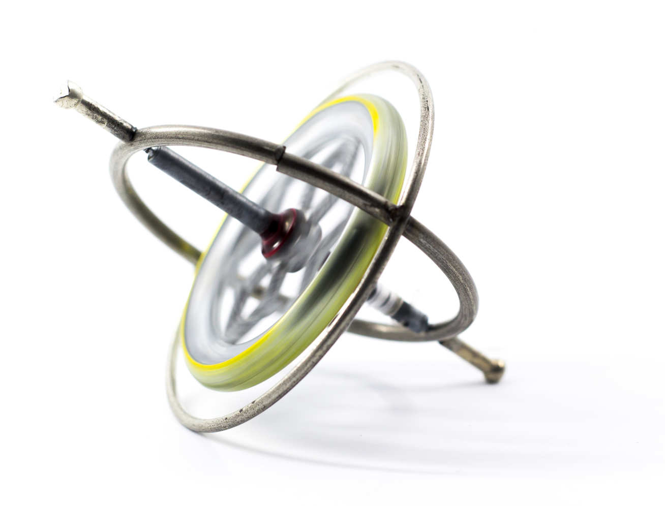 A toy gyroscope