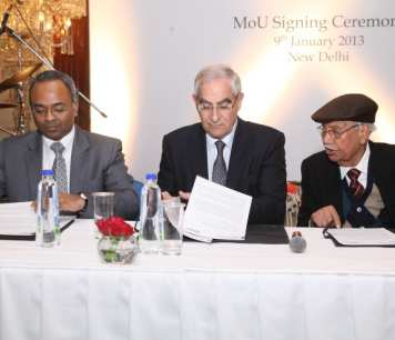 Signing of the Memorandum of Understanding