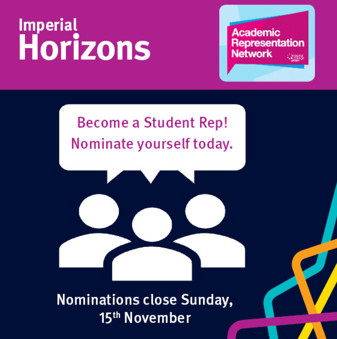 Become a student rep
