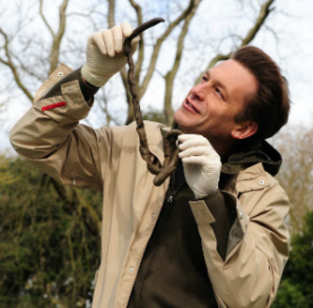 Chris Packham and the OPAL soil and earthworm survey launch