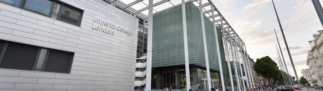 Main entrance of Imperial College London