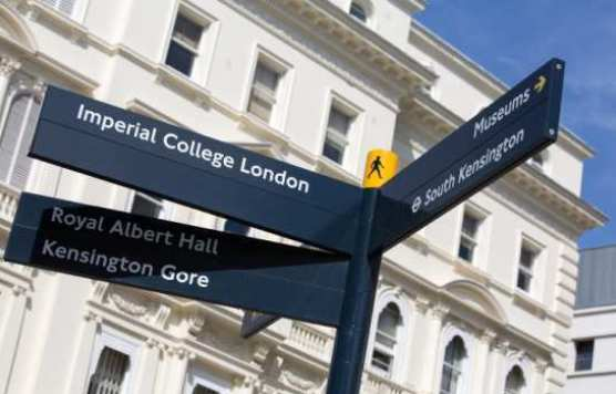 Imperial College London Signpost