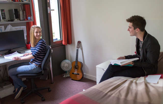 Students in Eastside accommodation
