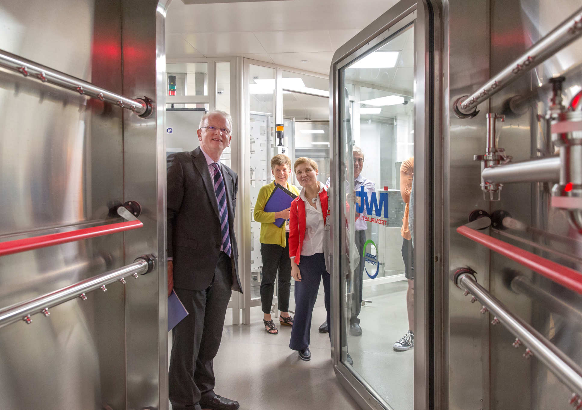 Professor Stirling opening new animal research facilities