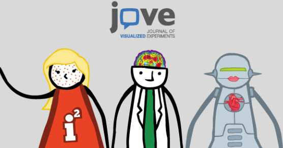JoVE promotional image