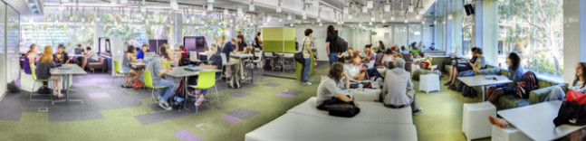 University of Queensland - social learning space Faculty of Science
