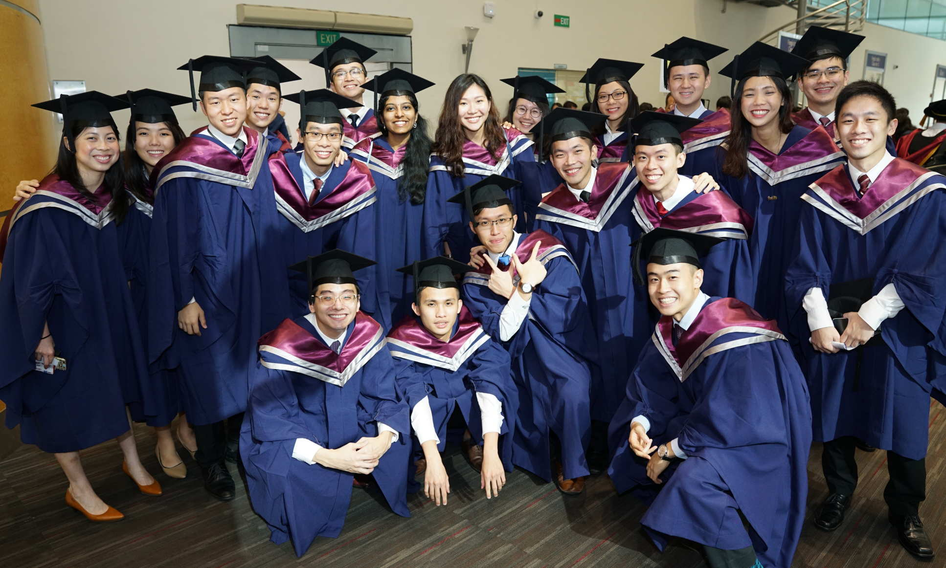 LKCMedicin group of graduates