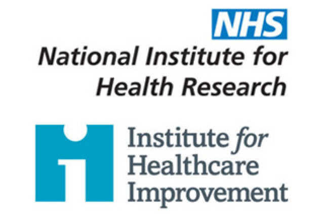 NIHR and IHI logos