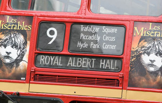 London bus information for visitors