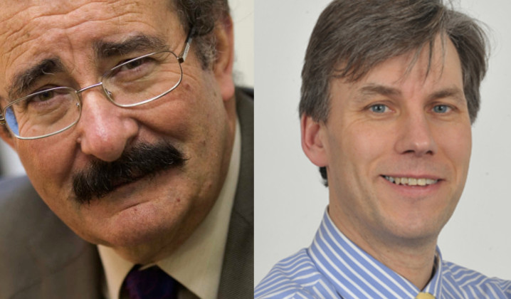 Robert Winston and Stephen Johns