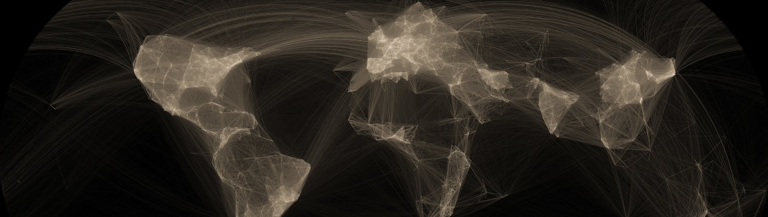 A world map of collaborations