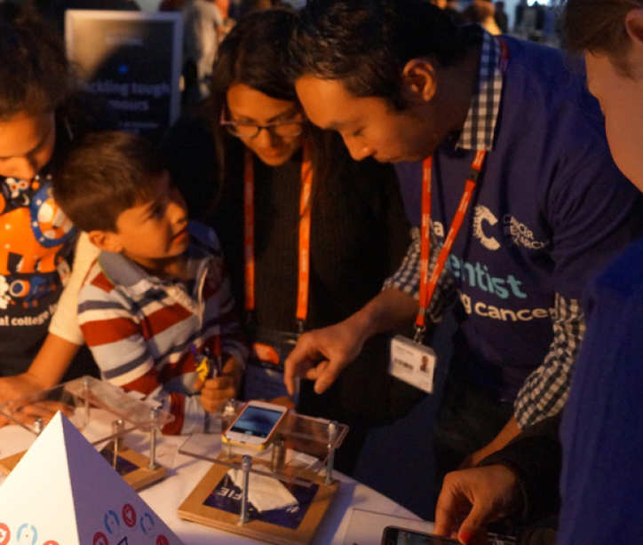 Beating cancer sooner: Cancer Research UK at Imperial Festival