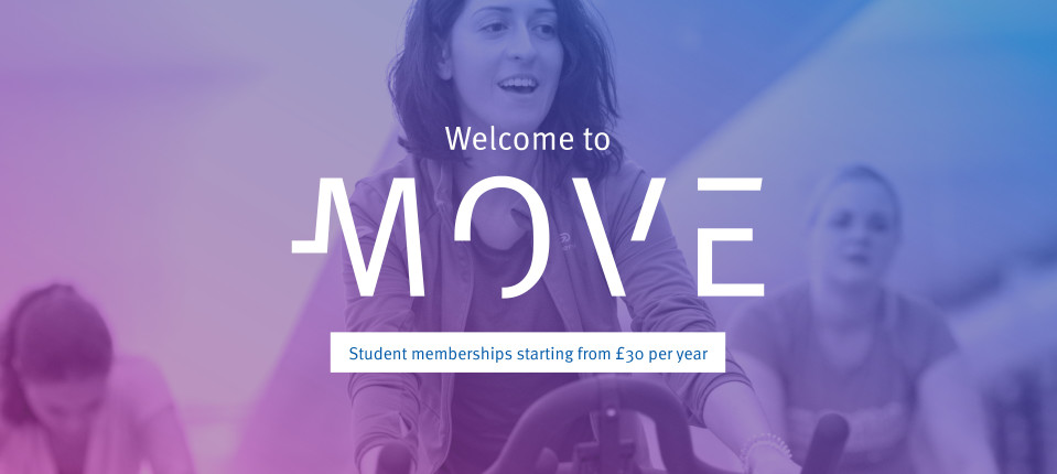 Welcome to Move - student memberships starting from £30 per year