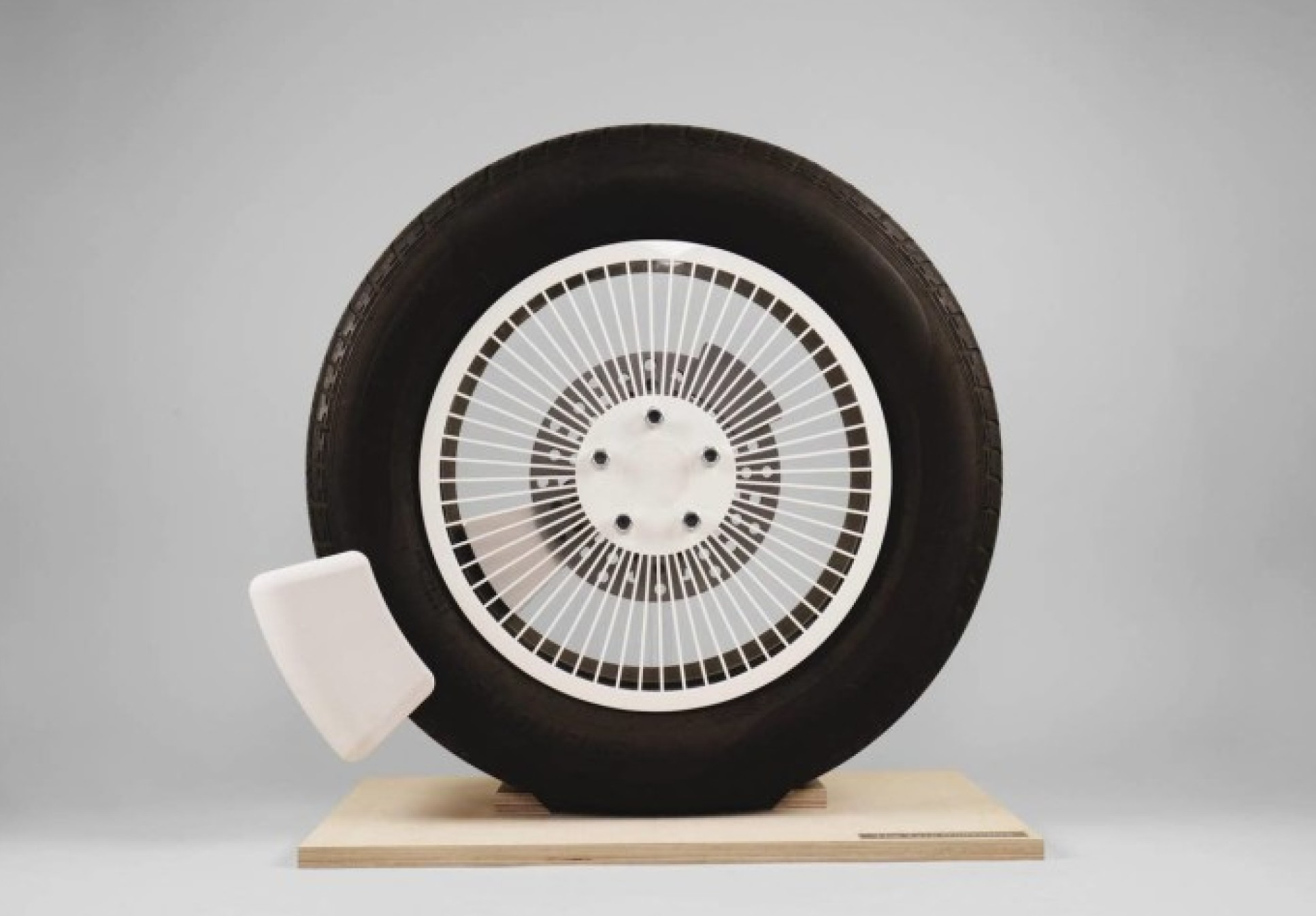 The Tyre Collective's wheel device