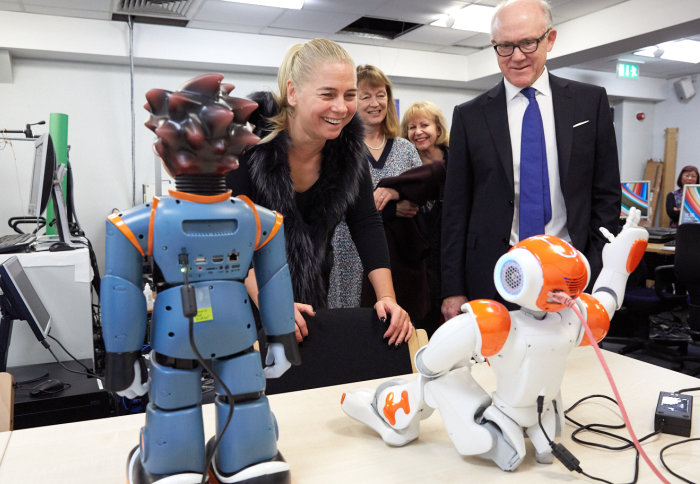 US Ambassador sees metabolic and robotic innovation at Imperial