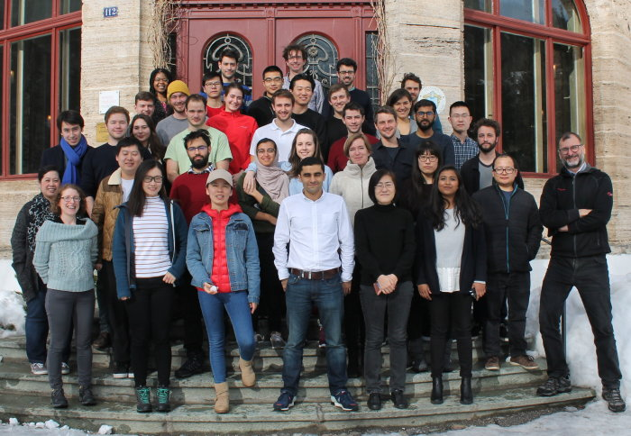 Attendees at Plastic Electronics Winter School 2018