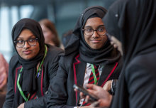Young people from schools across London got a unique insight into how science and technology is helping tackle the capital's environmental challenges