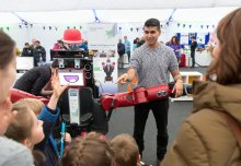 Festival's newest zone draws in the crowds to mark the Year of Engineering