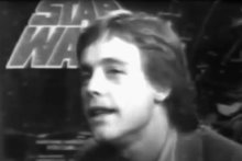 Mark Hamill at Imperial in 1977