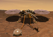 Next stop, Mars! Marsquake sensor begins 301 million mile journey to Red Planet
