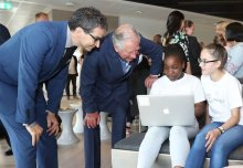 Prince Charles given insight into outreach programme inspiring young coders