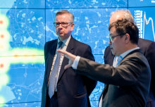 Environment Secretary Michael Gove launched the Government's Clean Air Strategy at Imperial College London.