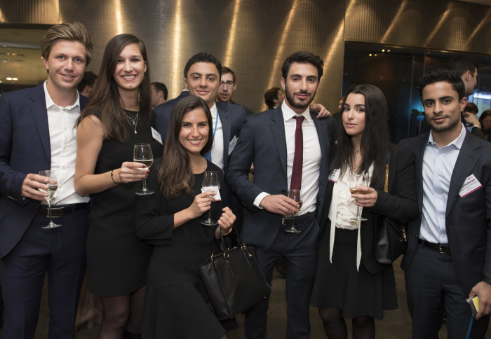Imperial alumni celebrate the MSc Finance's 20th anniversary at the London Stock Exchange