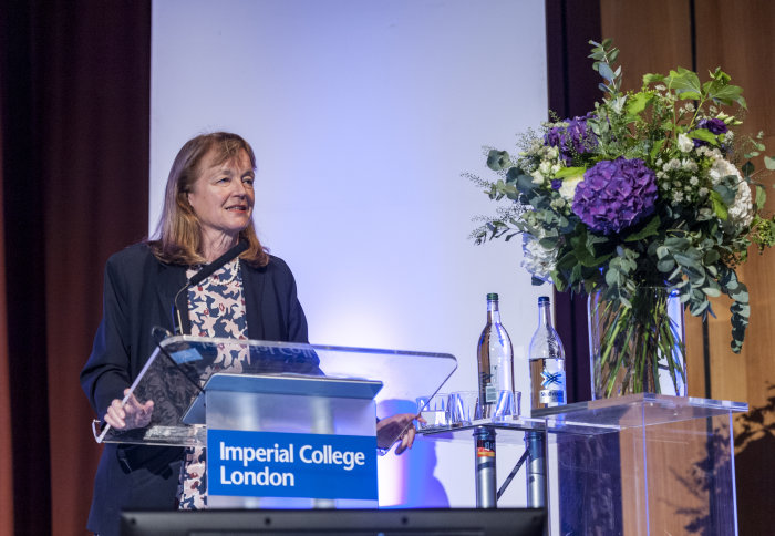 President Alice Gast at Imperial Garden Party