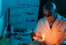 Imperial's scientific glassblower talks about his life's work before retirement