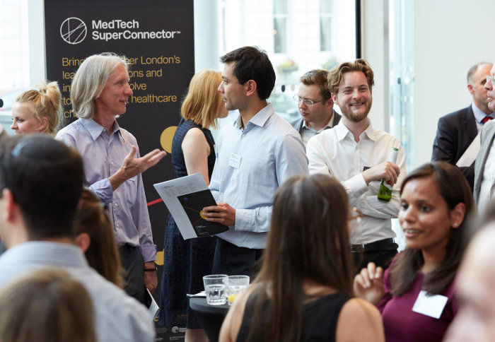 Launch event for the MedTech SuperConnector at Imperial