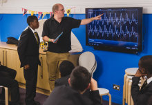 Science and music come together to inspire school pupils
