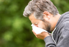 Imperial researchers are looking to protein fragments to help people build up resistance to grass pollen.