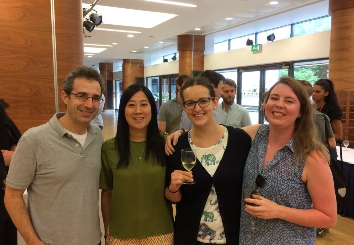 Vilar group members celebrate success at the Chemistry Postgraduate Symposium