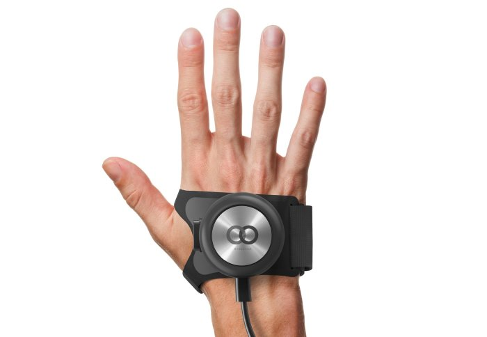 Artist's rendering of GyroGlove