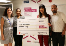 A platform that helps households dispose of waste cooking oil has taken first prize in the 2018 Imperial Business (IB) Pitch competition.