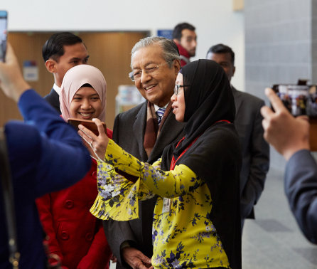 Malaysian Prime Minister visits Imperial as collaborations flourish