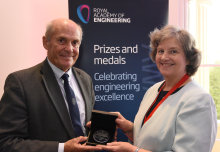 Professor Sir William Wakeham awarded top medal by Royal Academy of Engineering