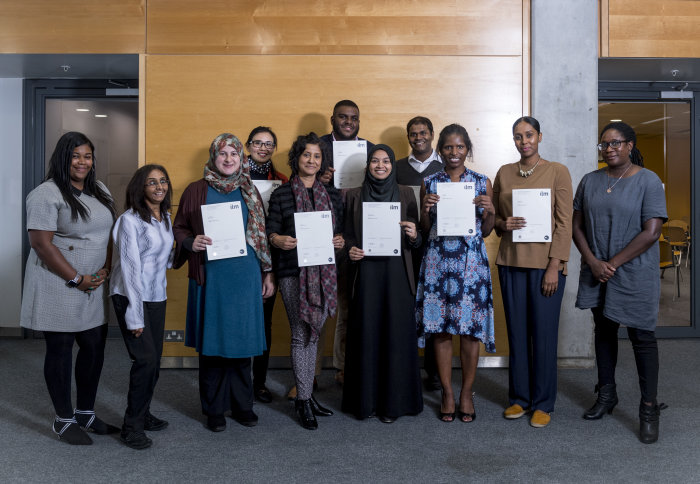 Fifth cohort of IMPACT programme receive their certificates
