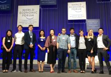 Student entrepreneurs take ideas to World Economic Forum in China