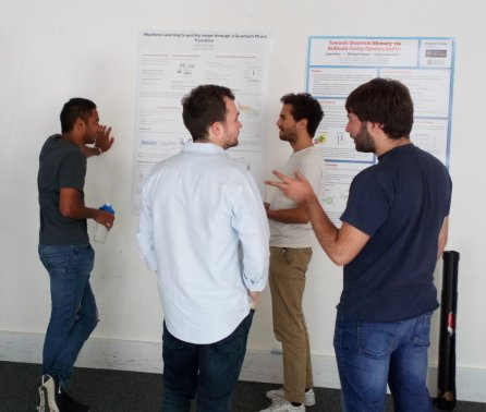 Poster session celebrates QSE research progress